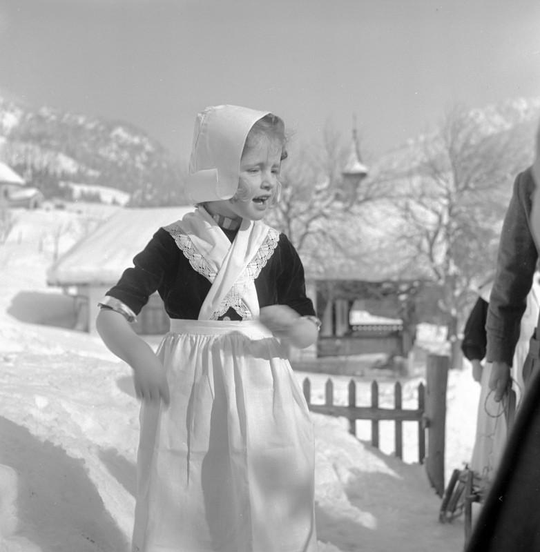 Schneeflöckchen, 1952