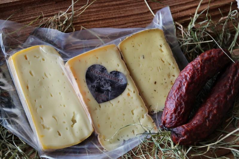 Allgäu Box - Bauerwurz (Käse + Wurst)
