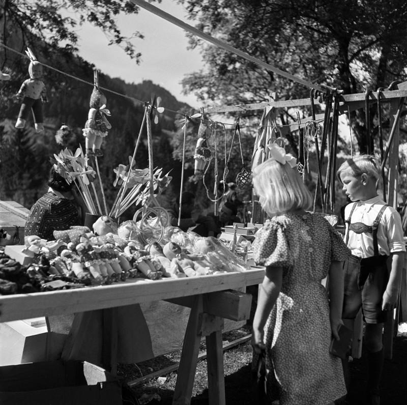 Gallusmarkt in Oberstdorf, 1949