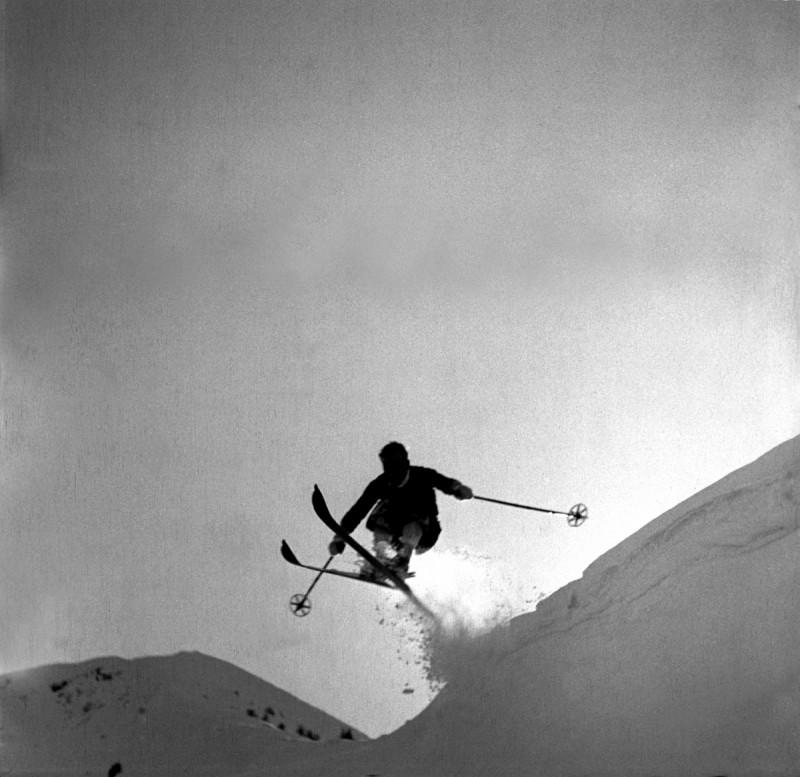 Geländesprung über die Wächte, 1934