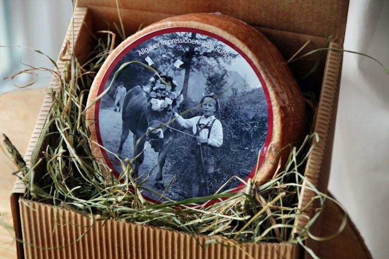 Allgäu Box - Viehscheid (Käse)
