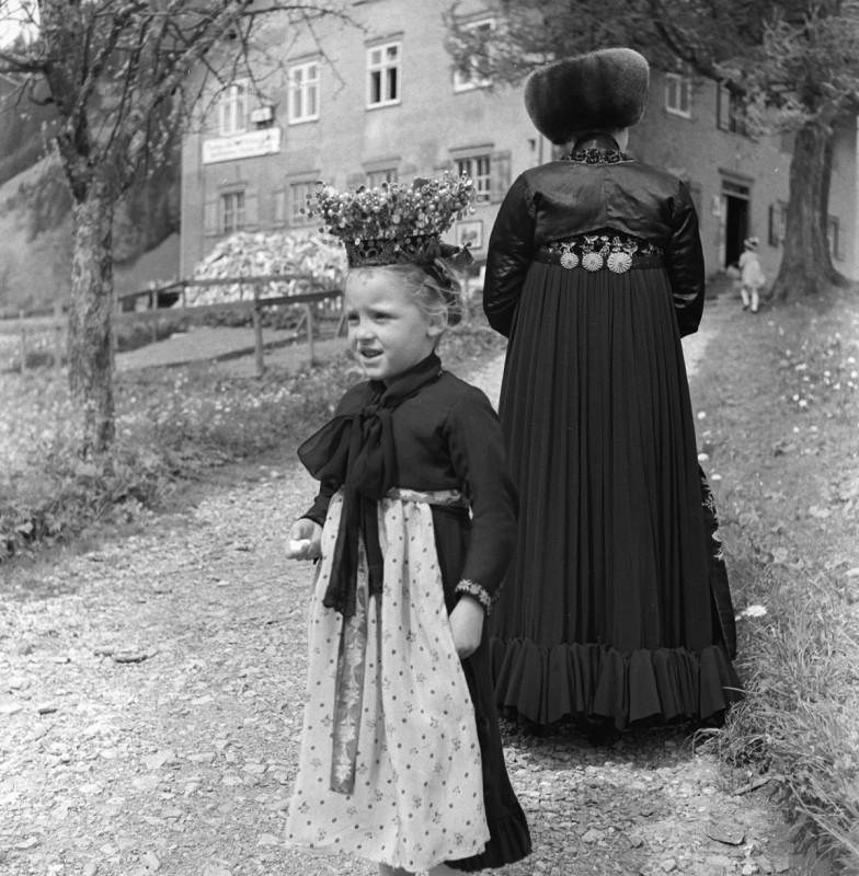 Fronleichnam im Walsertal, 1940