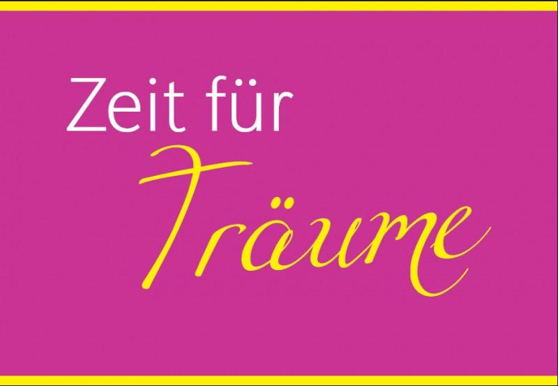 """Postkarte """"Zeit für Träume"""""""
