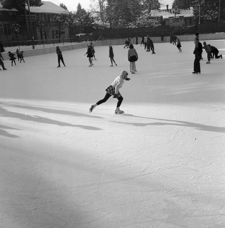 Winterspaß in Oberstdorf, 1946
