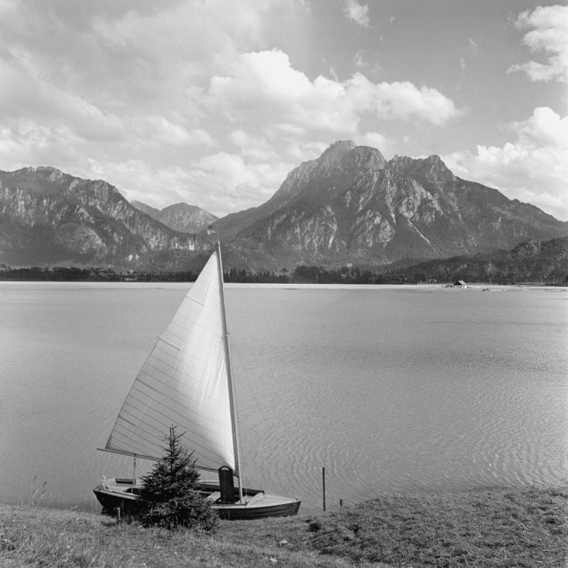 Lechstausee Forggensee, 1950