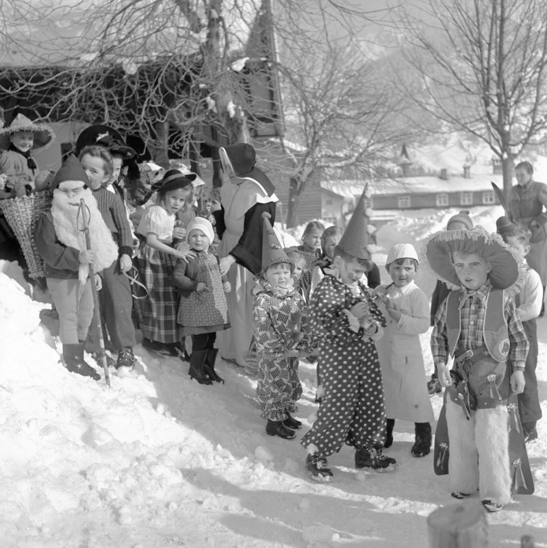 Kinderfasching, 1952