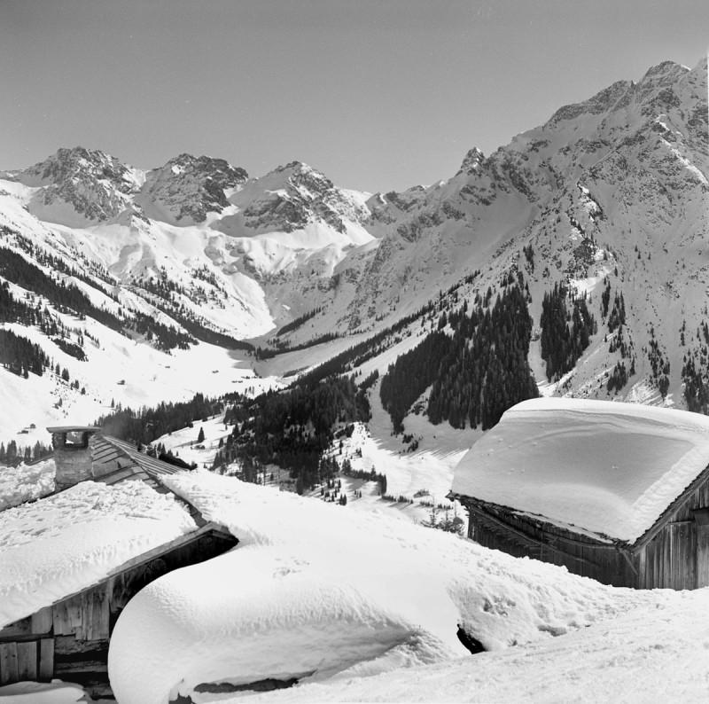 Winterglück im kleinen Walsertal