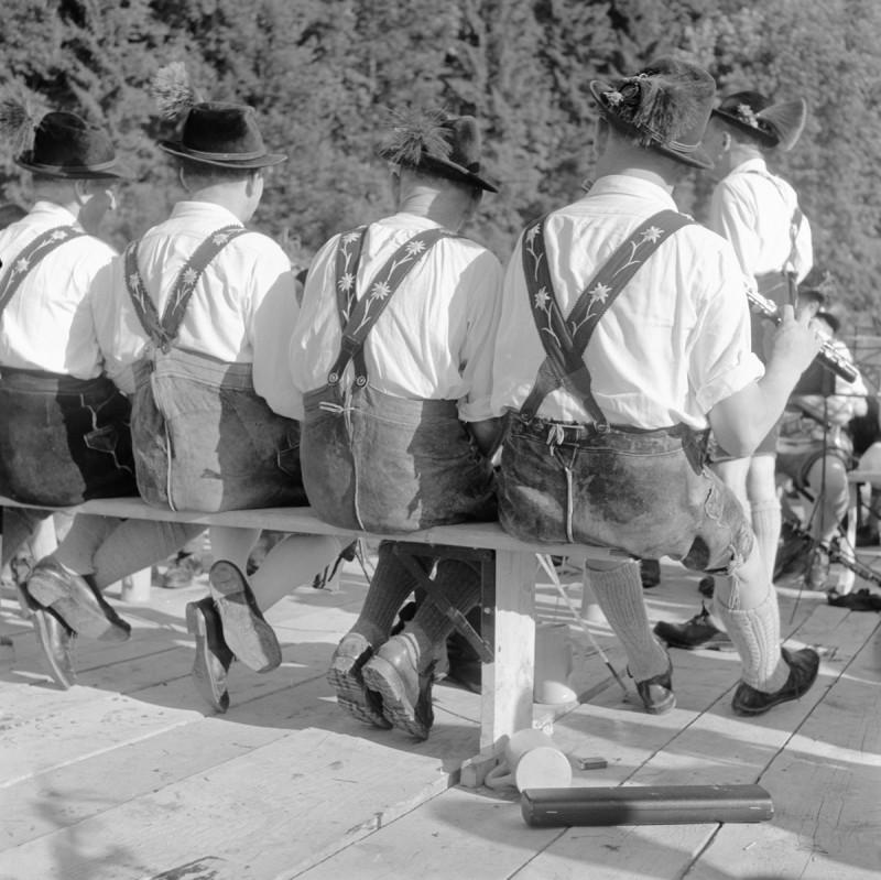 Edelweißhosenträger, 1951
