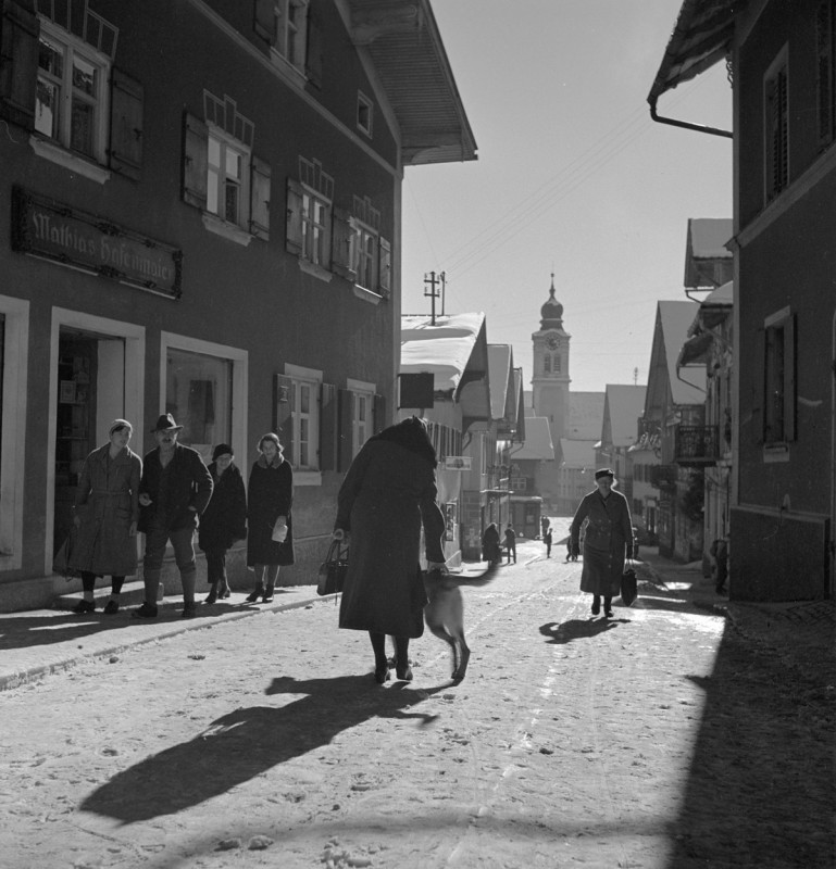 Einkaufen in Sonthofen, 1934