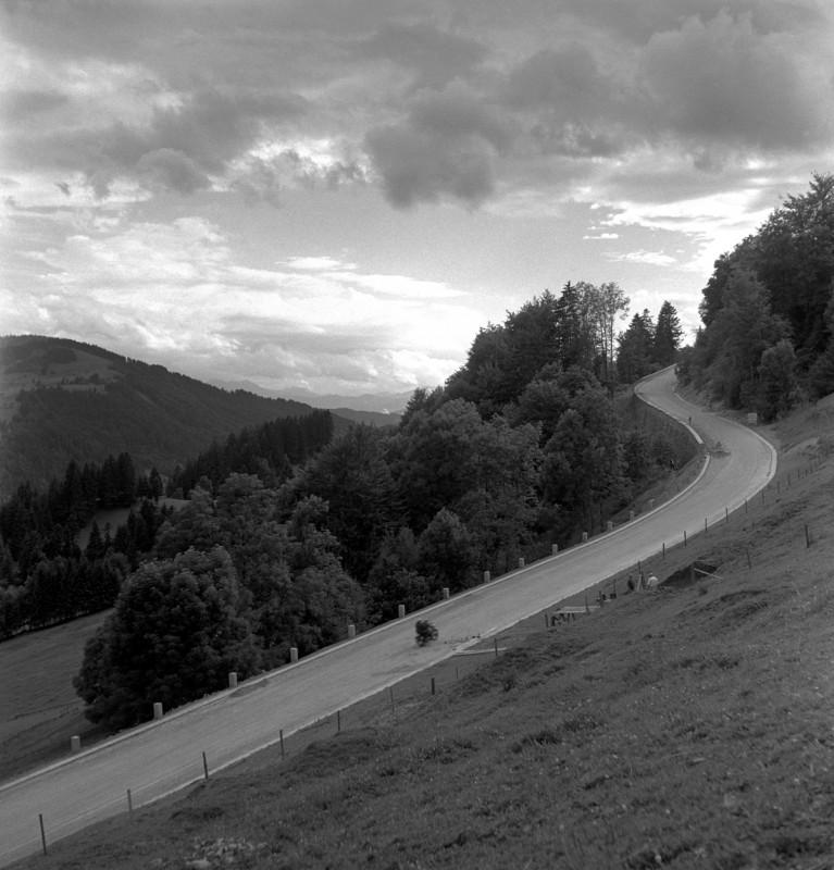 Motorradtour im Westallgäu, 1952