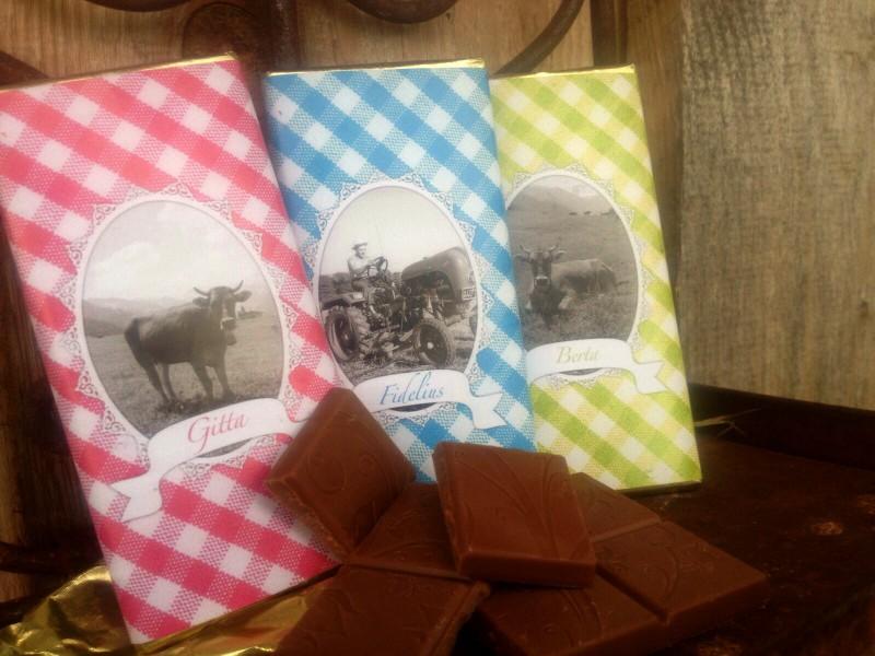 Allgäu Box, klein - Trio (Schokolade)