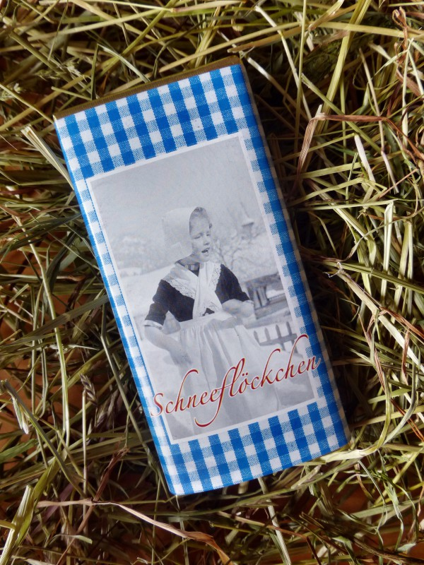 """Weiße Lala Schokolade """"Schneeflöckchen"""""""