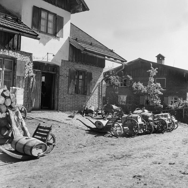 Sennküche mit Molkefässle, 1939