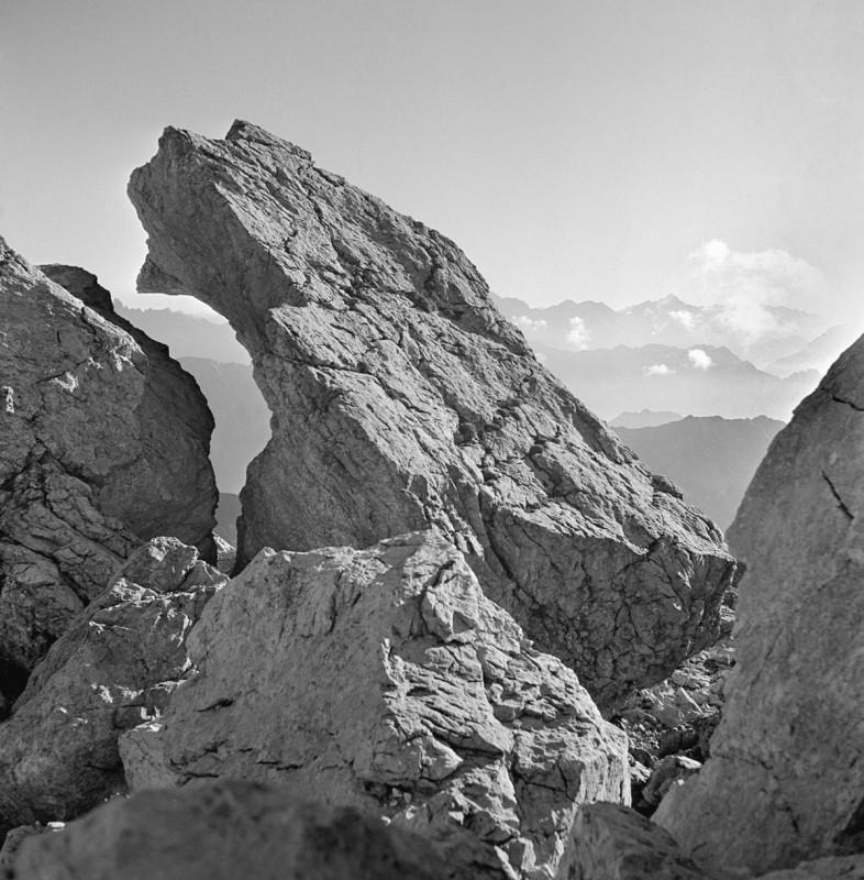 Einschnitte am Nebelhorn, 1952