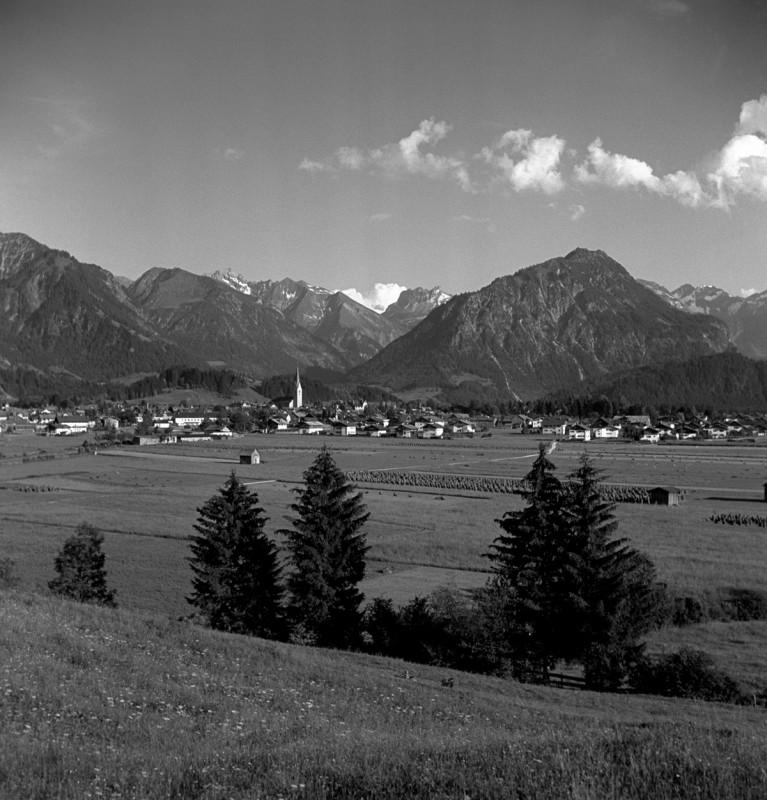 Blick auf Oberstdorf, 1946