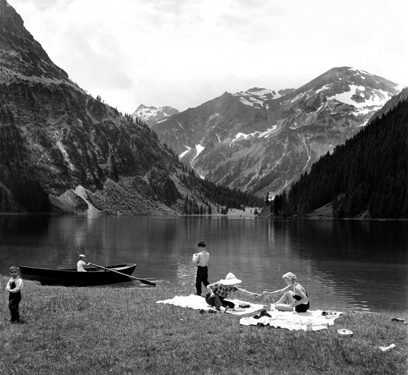 Picknick am Vilsalpsee