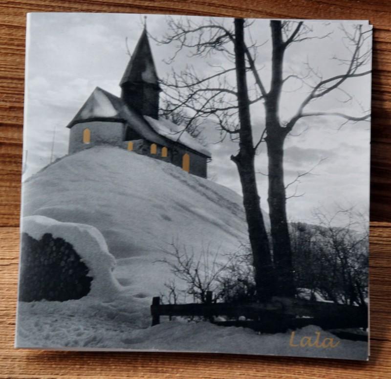 """Lala Weihnachtskarte """"Kapelle"""""""