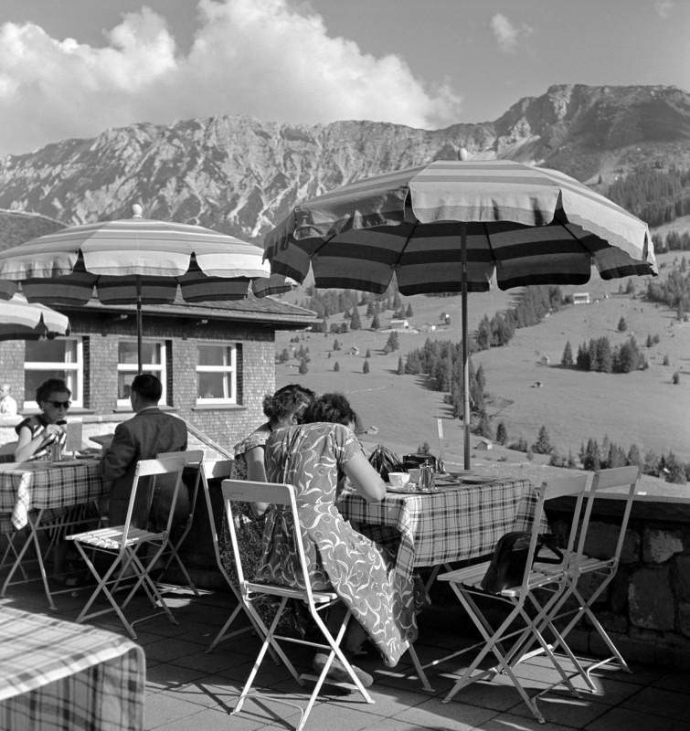 Kaffeepause, 1956
