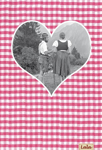 """Postkarte """"Romanze"""""""